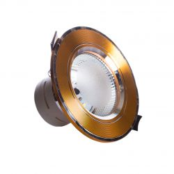 Точечный врезной светильники SunLight 12 GOLD