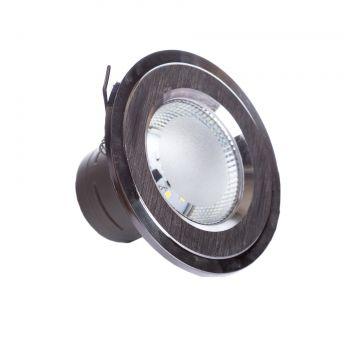 Точечный врезной светильники SunLight 12 SILVER